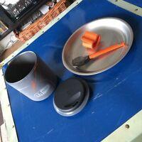 GSI Minimalist Cooking Mug & MSR Plate