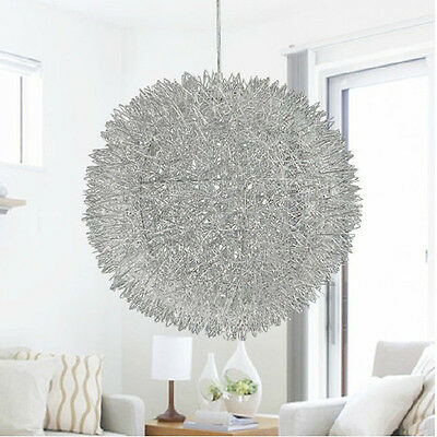 New Modern Aluminum Ball Matalica Cable Pendant Lighting Chandelier Lamp (Light Cable Pendant Fixture)