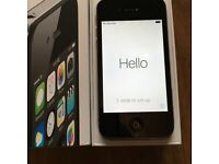 iPhone 4s 8gb Black Excellent Condition
