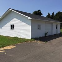 Large Building One Car Garage Shed Baby Barn