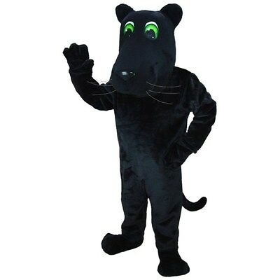 Cartoon Panther Professional Quality Mascot Costume Adult Size (Panther Mascot)