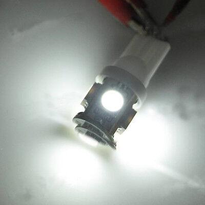 2 x Super White LED T10 194 3652 912 5-SMD Wedge License Plate Light Bulbs Truck