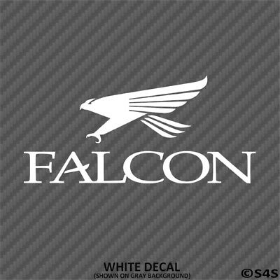 Falcon Graphite Fishing Rods Outdoor Sports Vinyl Decal Sticker - Choose Color