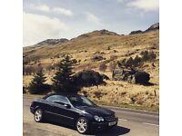 Mercedes CLK 200 convertible 2005 avantgarde 1.8L keyless entry/start