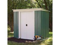 Two door garden shed metal ( free )
