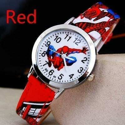 SpiderMan Watch Cute Cartoon Watch Children's Watch