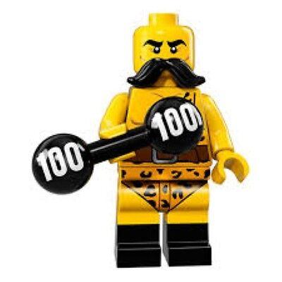 Lego Minifigure Series 17 Circus Strongman - Circus Strongman