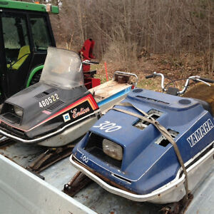 2 Yamaha Enticer 300's - COMPLETE PART OUTS