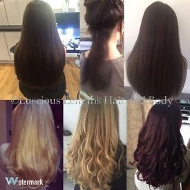 Free Shrink Weave 150g Human Hair Extensions with Fitting and Finish