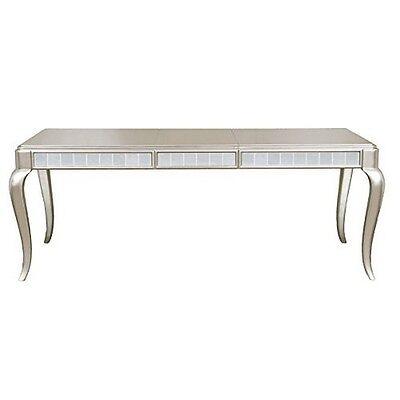 Pulaski 8808 135 Samuel Lawrence Diva Rectangular Leg Table Platinum New