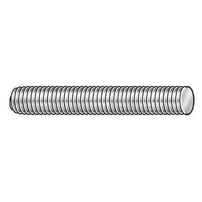 Zoro Select Lc.05801801.pl.dar 58-18 X 1 Plain Low Carbon Steel Threaded Rod