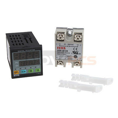 Universal Digital PID Temperature Controller TD4-SNR Solid state relay SSR-40DA