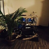 DRUM SET! TREE INCLUDED!!