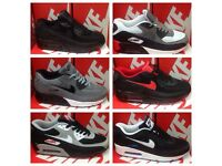 TRAINERS NIKE AIR MAX 90s CLOTHES JACKET TSHIRTS POLO TSHIRTS TRACKSUITS JOBLOTS WHOLESALE (OZEY)