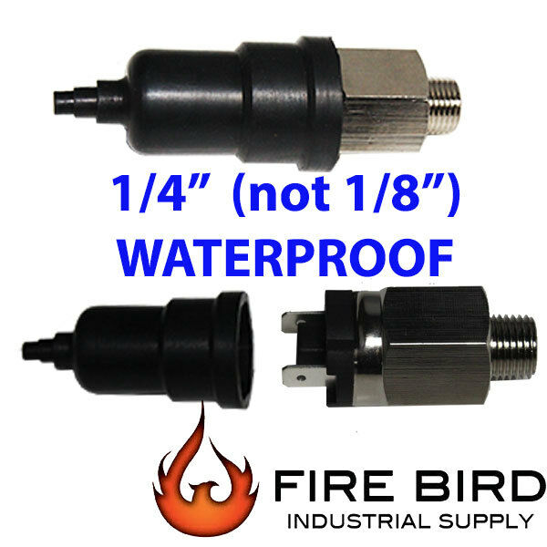 """V 1/4"""" 15-150psi Adjustable Air Pressure Switch  in USA"""