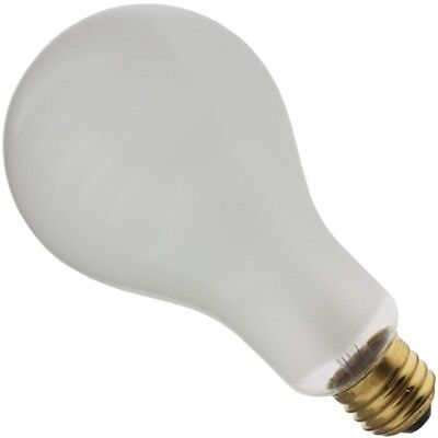 INDUSTRIAL PERFORMANCE 300PS25/IF 300W 130V INSIDE FROST INCANDESCENT LIGHT BULB