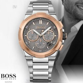Men's Hugo Boss watches for sale brand new with box and manual