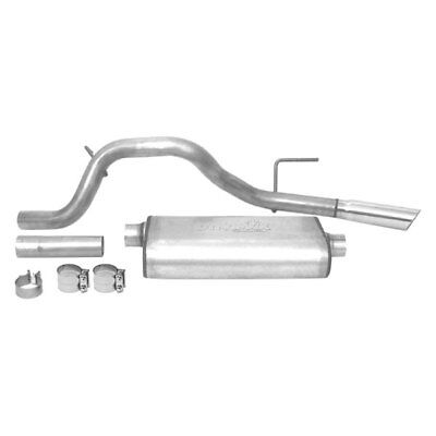 - For Jeep Liberty 08-12 Exhaust System Ultra Flo Stainless Steel Cat-Back Exhaust