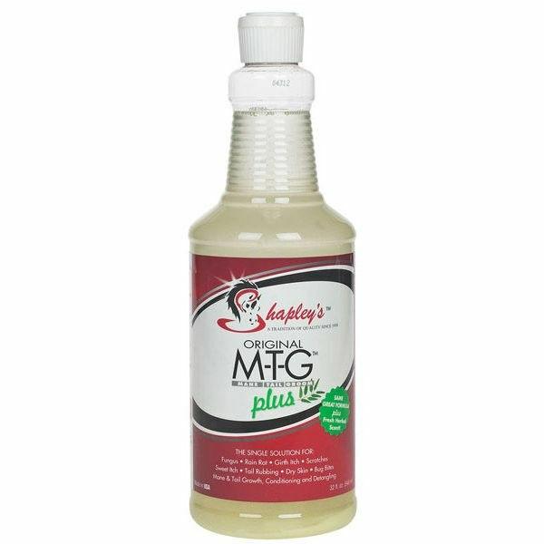 Shapley MTG Plus Herbal Scent Skin Issues Rain Rot Oil Based Horse Equine 32 oz