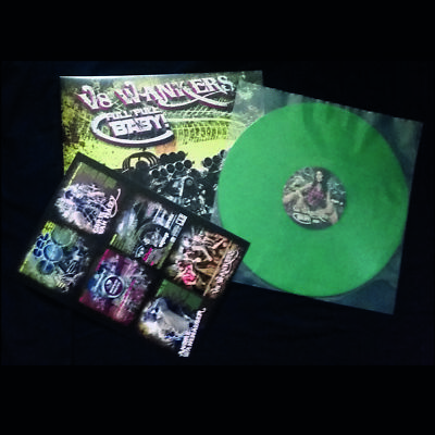 V8 WANKERS - FULL PULL BABY! - LP GRASS GREEN VINYL LTD. 79 COPIES + BONUS TRACK