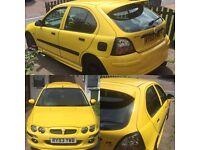 MG ZR 1.4 2003 (looking to swop)