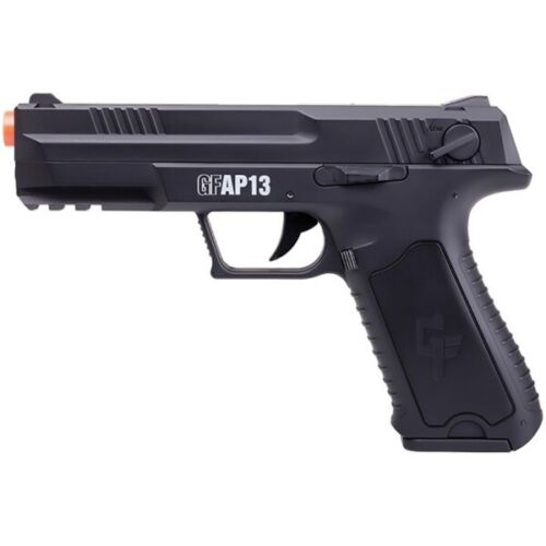 Crosman GFAP13 Full/Semi-Auto Airsoft Pistol with Rechargeable Battery 250 FPS