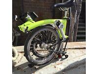 Brompton folding bike -S-type