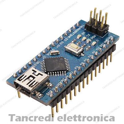 Arduino Compatibile Nano V3.0 microcontrollore Atmega328p CH340G CH340 ATmega328
