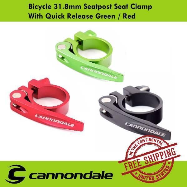 KREX Aluminum 34.9mm MTB Mountain Road Bike Bicycle Seatpost Clamp Black