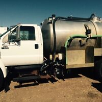 Septic tank cleaning!