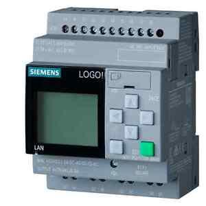 Siemens LOGO! 6ED1052-1CC01-0BA8 LOGO! 24CE LOGO! Soft Comfort 8