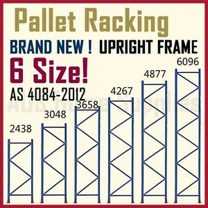 Pallet Racking Upright Frames Beams Warehouse System Accessories Melton Area Preview