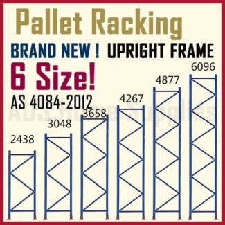 Pallet Racking Upright Frames Beams Warehouse System Accessories
