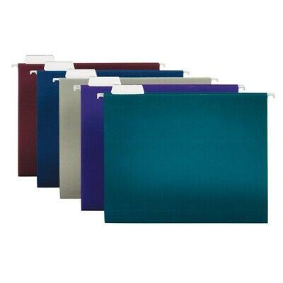 Office Depot Brand 2-tone Hanging File Folders 15 Cut Letter Size 25-pk