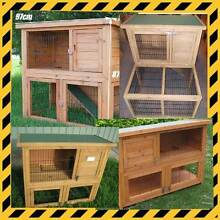 Rabbit Hutches & Cages- Mini Lop Bunnies - Rabbit & GPig Supplies Osborne Port Adelaide Area Preview