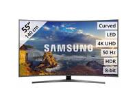 "Samsung Ue55mu6200 55"" Curve UHD Smart 4K TV. Brand new boxed complete can deliver and set up."