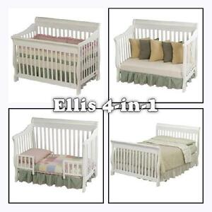 Deluxe 4-in 1 Crib and Infant bed Kitchener / Waterloo Kitchener Area image 1