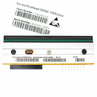 203 Dpi 105sl Printhead (US New Printhead for Zebra 105SL Plus Thermal Printer 203dpi P1053360-018 )