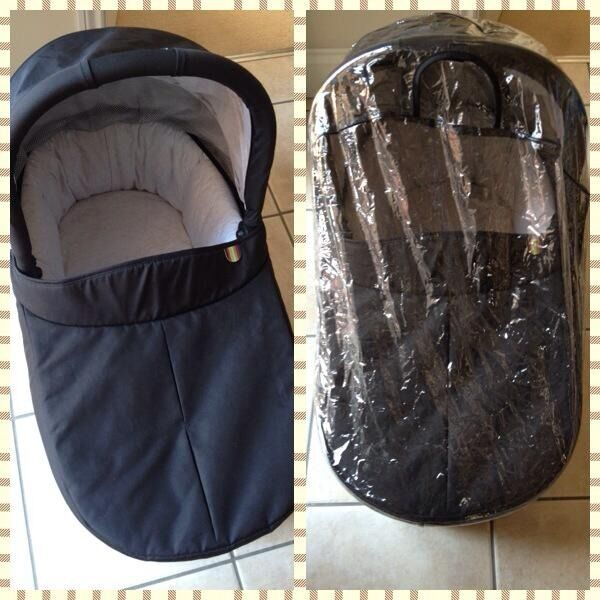 how to use carrycot in car