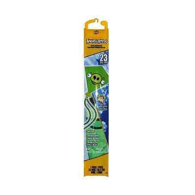 """BrainStorm Angry Birds 23"""" Nylon Diamond Kite - Green Pig #81343"""