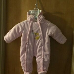 Pink Disney Snowsuit