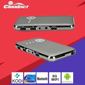 Mini android portable HD projector/android box