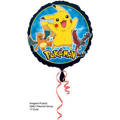 Folienballon POKEMON PIKACHU 43cm Kindergeburtstag Geschenk Luftballon Deko