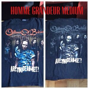 Tshirt metal children of bodom MEDIUM