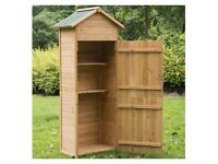 New in Original Packaging Box - Dutch Door Small Garden Storage Shed
