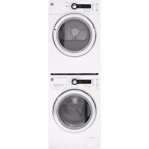 24 GE Washer-Dryer Combo, Front Load, Stackable