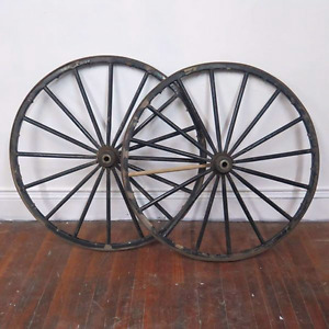 Looking for antique wheels
