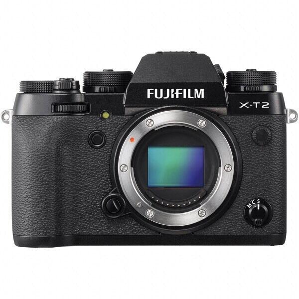New Fujifilm X-T2 mirrorless digital camera, New, 2 years UK warranty