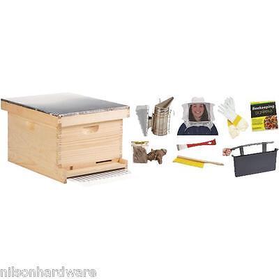 Little Giant Beginner Bee Keeper Bee Hive 10-frame Kit Hive10kit