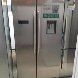 HISENSE 610L SIDE BY SIDE FRIDGE (FACTORY SECOND) $899 Broadmeadows Hume Area Preview